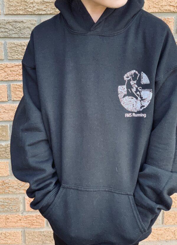 first-mile-sucks-kids-hoodie-front