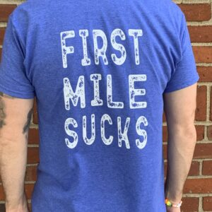 FMS Running T-Shirt Blue