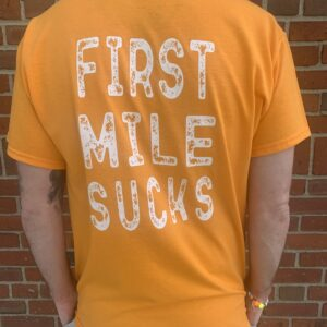FMS Running T-Shirt Yellow
