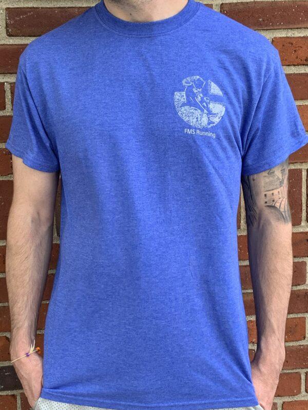 FMS Running T-Shirt Blue