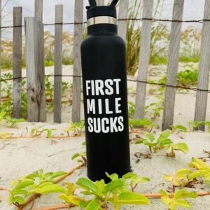 First Mile Sucks Water Bottle